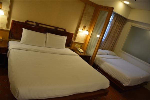 台北凱統大飯店_客房_Quad room