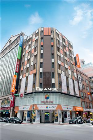 台北 桔子商旅【館前店】_酒店外觀_酒店外觀