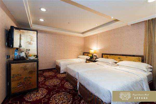 台北 皇家季節酒店【南西館】_客房_客房