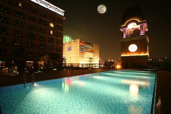 台北維多麗亞酒店_游泳池_游泳池