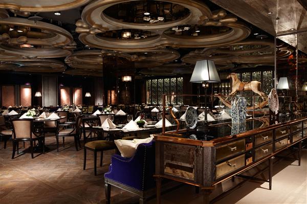 台北君品酒店_餐廳_餐廳
