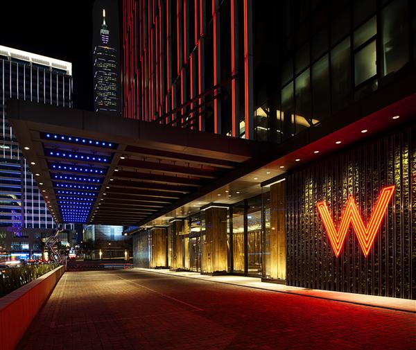 台北W飯店_入口_入口