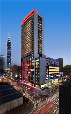 台北W飯店_酒店外觀_酒店外觀