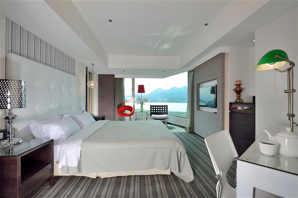 新北淡水 觀海樓旅店_套房_環繞海景名人套房