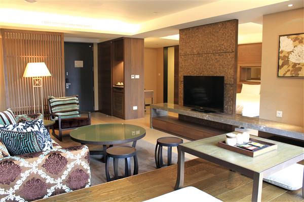 新北三峽 大板根森林溫泉渡假村_客房_酒店豪華溫泉套房
