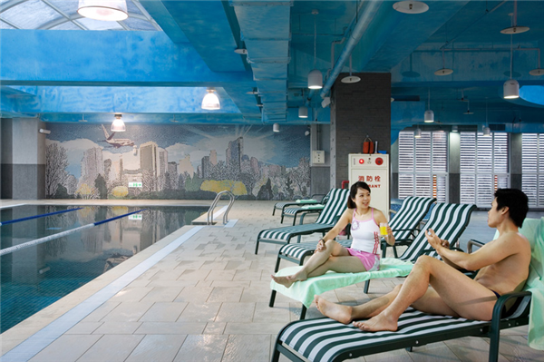 桃園桃禧航空城酒店_游泳池_游泳池
