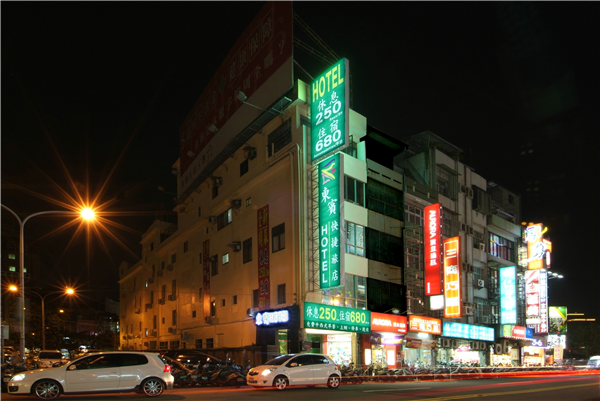 新竹東賓快捷旅店_酒店外觀_酒店外觀