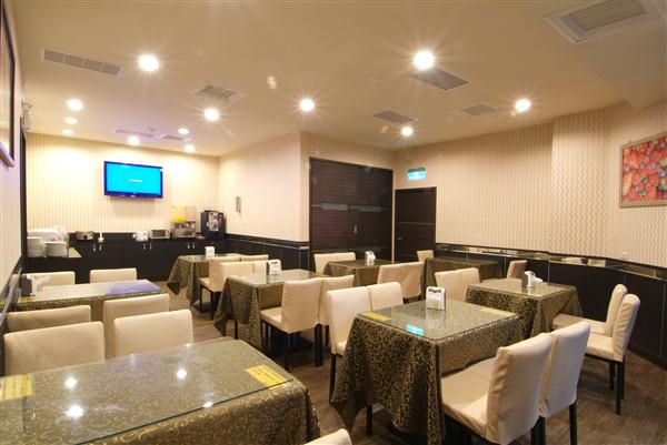 新竹 左岸假期旅店_餐廳_餐廳