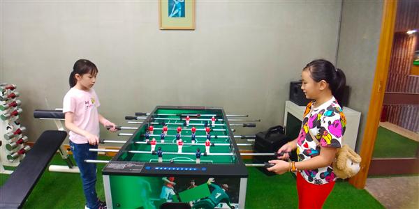 新竹統一馬武督渡假村_兒童俱樂部_兒童俱樂部-手足球