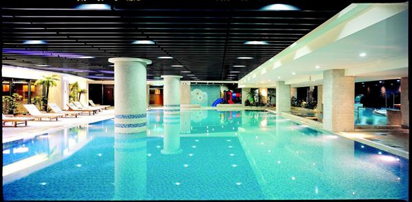 新竹煙波大飯店【湖濱館】_游泳池_游泳池