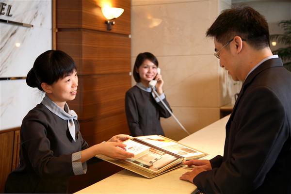 台中 高苑商務旅館【中山店】_大廳_大廳