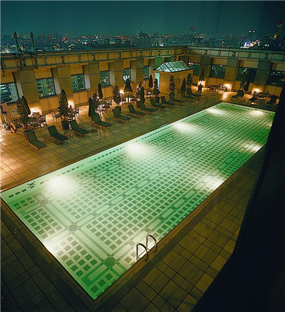 台中 金典酒店_游泳池_游泳池