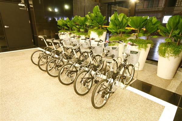 高雄 康橋大飯店【七賢館】_娛樂設施_腳踏車