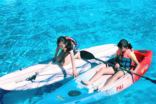 墾丁統一渡假村海洋體驗樂園_娛樂設施_獨木舟體驗池