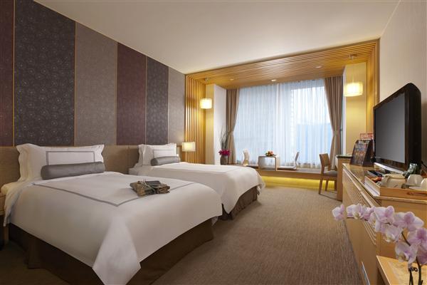 宜蘭礁溪 長榮鳳凰酒店_客房_高級洋式客房(兩小床)