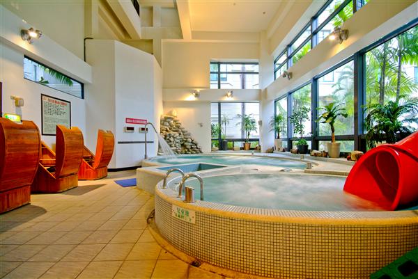 台南 F HOTEL 【台南館】_游泳池_游泳池