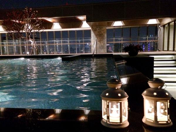 台中 星享道酒店(逢甲夜市)_游泳池_游泳池