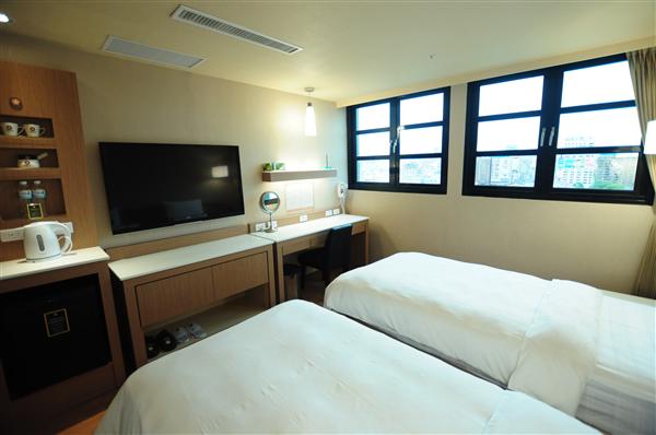 高雄康橋大飯店【站前館】_客房_商務兩小床房
