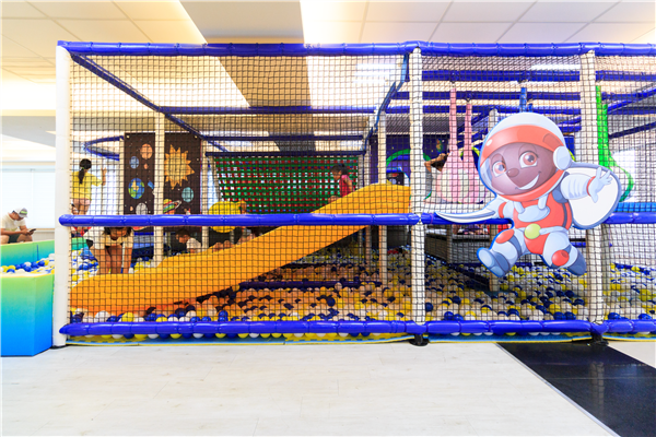 宜蘭 幸福星空精品旅店_遊樂場_8F親子遊戲區