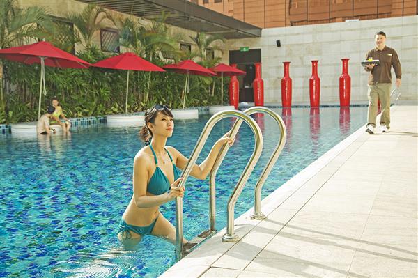 台中 林酒店_游泳池_游泳池