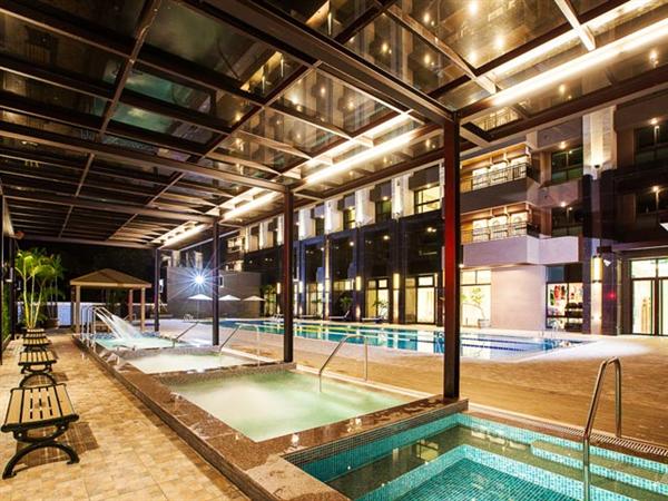 台東 F HOTEL 【知本館】_游泳池_游泳池