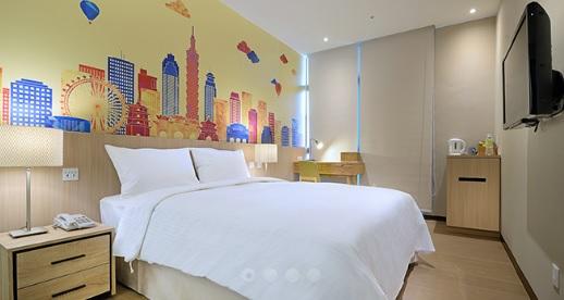 新北永和 晶贊都會旅店 永和館_客房_都會標準房