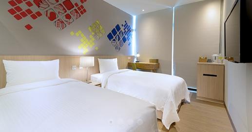 新北永和 晶贊都會旅店 永和館_客房_都會雙人房