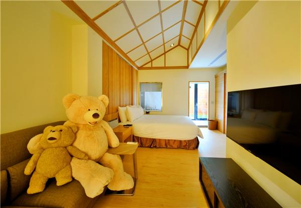 花蓮 雲山水 有熊的森林Villa_客房_熊甜蜜雙人房