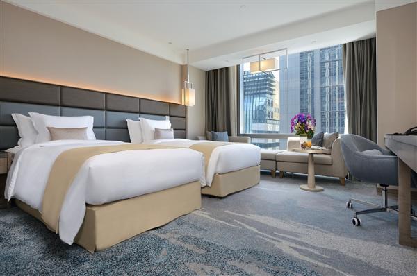 新北板橋 凱撒大飯店_客房_Deluxe豪華客房二小床