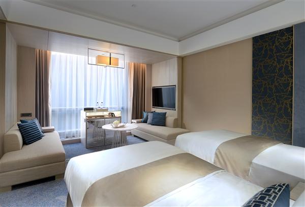 新北板橋 凱撒大飯店_客房_Elite菁英客房二小床