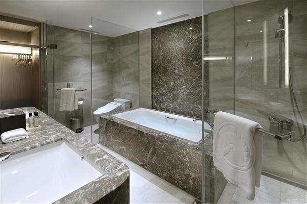 新北板橋 凱撒大飯店_衛浴間_Elite菁英客房浴室
