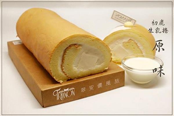 台東 翠安儂風旅_咖啡店_法式甜點屋-初鹿鮮乳捲原味