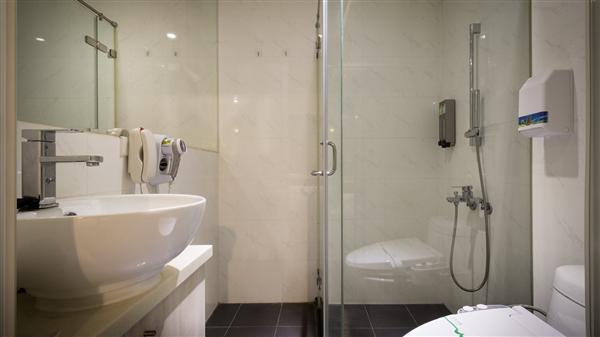 美麗殿城市商旅_衛浴間_標準房衛浴間