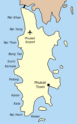 普吉岛地图
