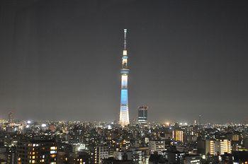 东京铁塔 卫星图