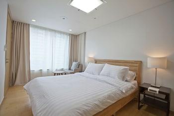蠶室站世界塔畫廊公寓飯店 B JAMSIL WORLDTOWER GALLERIA APT B