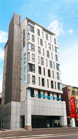 台北 捷絲旅【林森店】_酒店外觀_酒店外觀