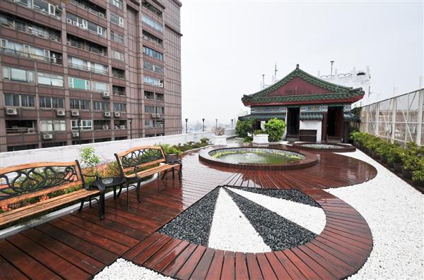 台北 凱撒大飯店_花園_屋頂花園