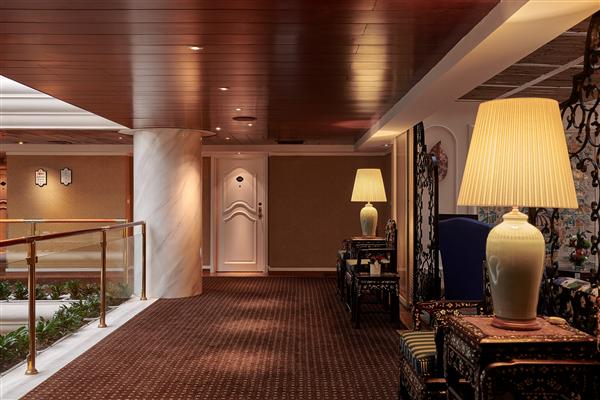 台北 歐華酒店_環境_飯店走廊