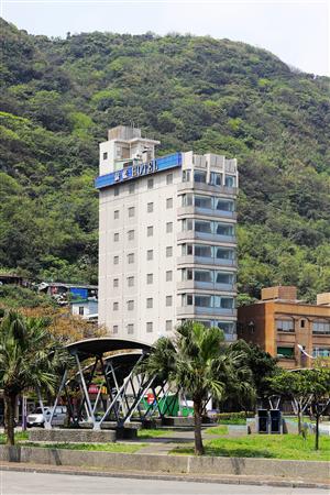 基隆蔚藍海景旅店_酒店外觀_酒店外觀