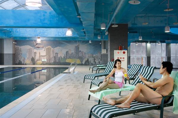 桃園 桃禧航空城酒店_游泳池_游泳池