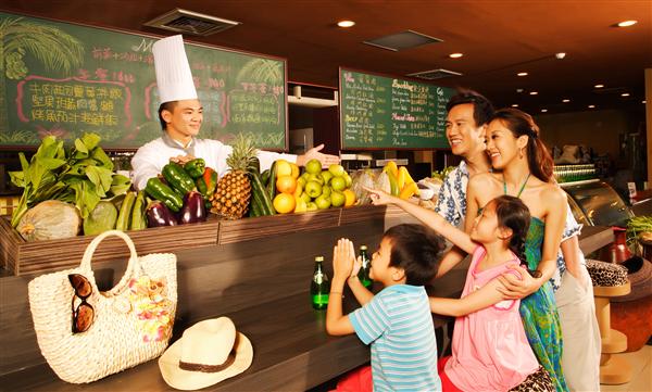新竹關西六福莊生態渡假旅館_餐廳_餐廳