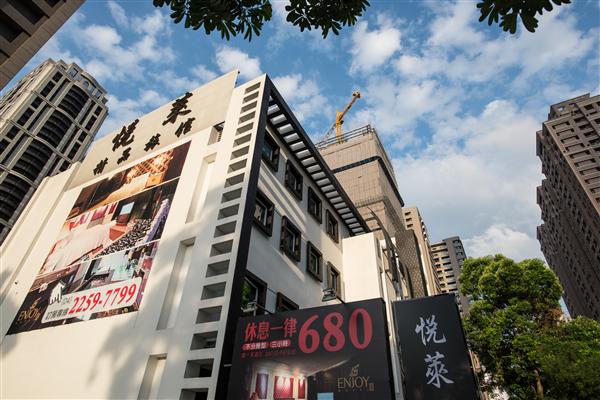 台中 悅萊精品旅館_入口_入口
