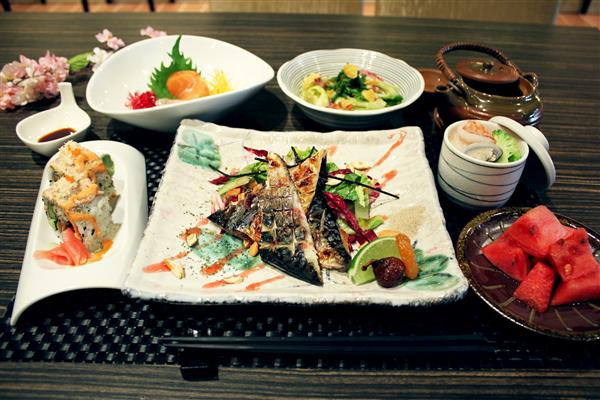 台中 福容大飯店 麗寶樂園_日本餐廳_山櫻定食
