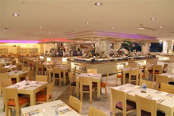 雲林古坑 劍湖山王子大飯店_餐廳_蔚藍西餐廳