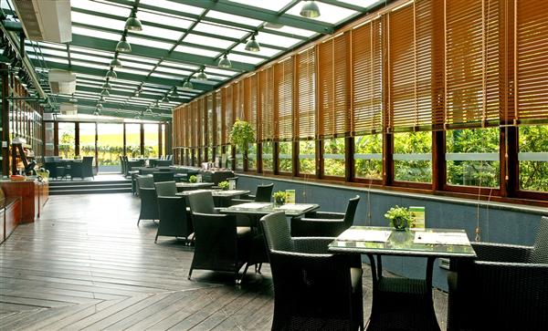 台南 大億麗緻酒店_咖啡店_風尚庭園咖啡廳