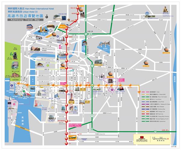 高雄商旅_環境_高雄市旅遊導覽地圖