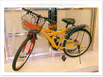 高雄 康橋商旅【漢神館】_娛樂設施_腳踏車