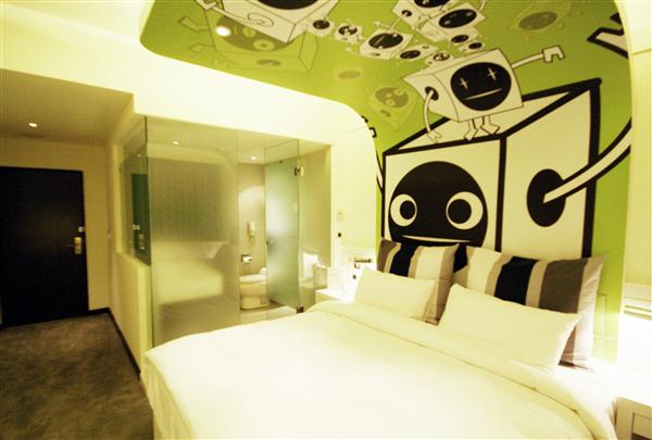 高雄 華園飯店_客房_客房-和平綠