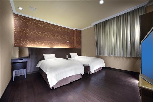 宜蘭 富翔大飯店_客房_風格雙床房